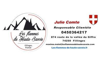 Signature mail Julie Comte